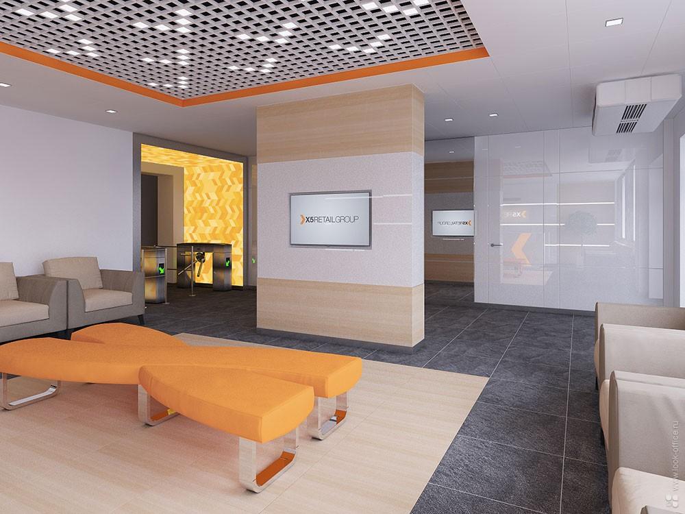 Объект: офис компании x5 retail group, гмосква